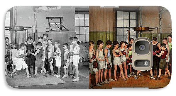 Galaxy Case featuring the photograph Sport - Boxing - Fists Of Fury 1924 - Side By Side by Mike Savad