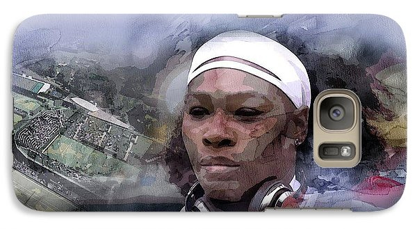 Venus Williams Galaxy S7 Case - Sports 219 by Jani Heinonen
