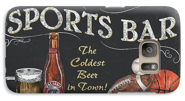 Sports Bar Galaxy S7 Case by Debbie DeWitt