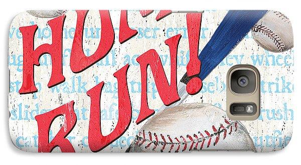 Baseball Bats Galaxy S7 Case - Sports Fan Baseball by Debbie DeWitt