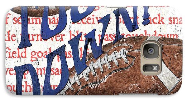Sports Fan Football Galaxy S7 Case by Debbie DeWitt