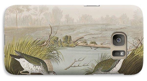Sandpiper Galaxy S7 Case - Spotted Sandpiper by John James Audubon