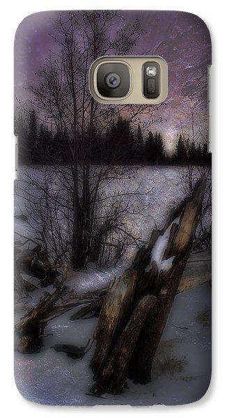 Galaxy Case featuring the photograph Sprague Lake Winter Dream by Ellen Heaverlo