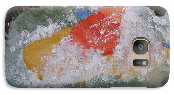 Galaxy Case featuring the painting Spray by Sandy McIntire