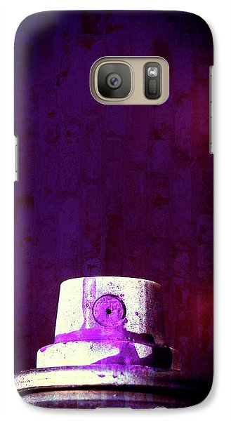 Galaxy Case featuring the mixed media Sprayed by Karol Livote