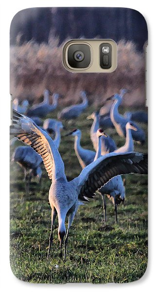 Galaxy Case featuring the photograph Spread Your Wings by Shari Jardina