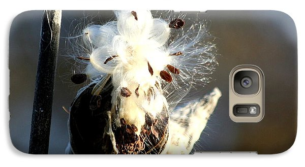 Galaxy Case featuring the photograph Spreading Seeds by Diane Merkle