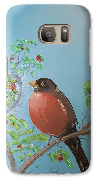 Galaxy Case featuring the painting Spring by Al Johannessen