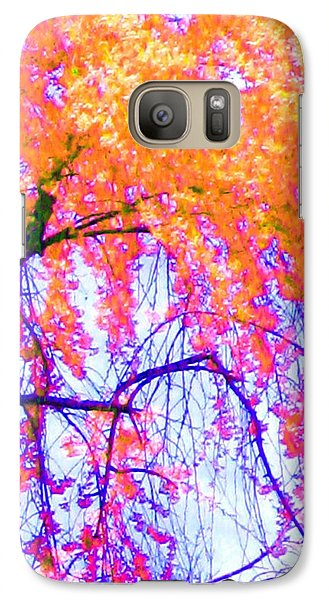 Galaxy Case featuring the photograph Spring Alive by Susan Carella