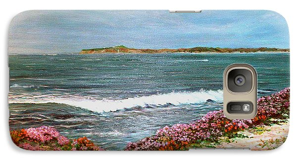 Galaxy Case featuring the painting Spring At Half Moon Bay by Dee Davis