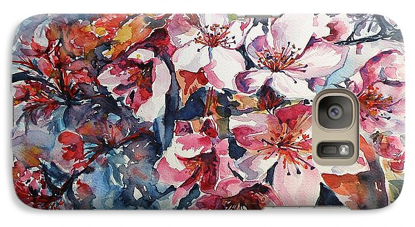 Galaxy Case featuring the painting Spring Beauty by Kovacs Anna Brigitta
