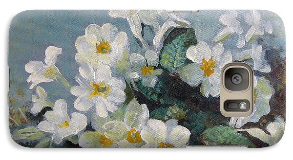 Galaxy Case featuring the painting Spring Blooms by Elena Oleniuc