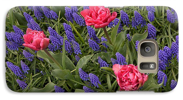 Galaxy Case featuring the photograph Spring Blooms by Phyllis Peterson