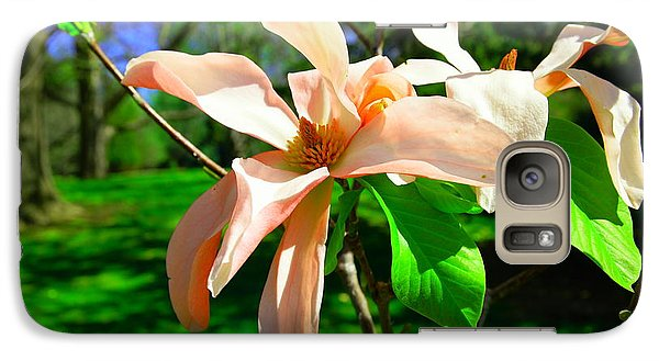 Galaxy Case featuring the photograph Spring Blossom Open Wide by Jeff Swan
