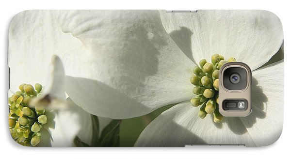 Galaxy Case featuring the photograph Spring Blossoms by Diane Merkle
