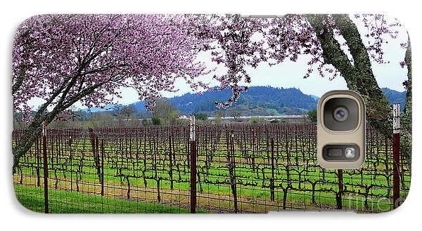 Spring Blossoms Near Calistoga Galaxy S7 Case