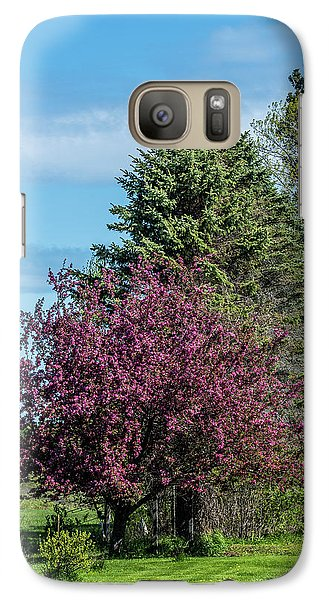 Galaxy Case featuring the photograph Spring Blossoms by Paul Freidlund