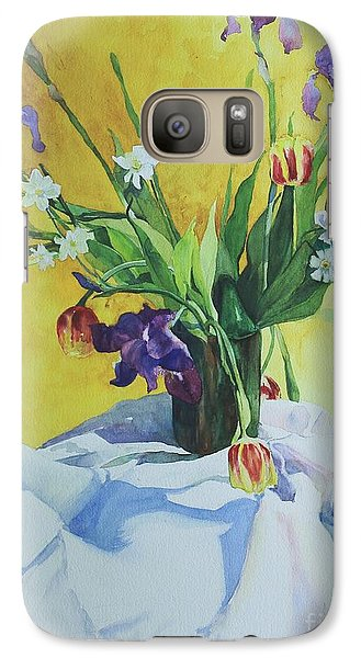 Galaxy Case featuring the painting Spring Bouquet by Elizabeth Carr