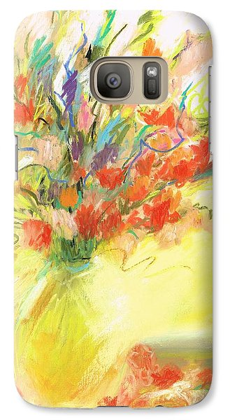 Galaxy Case featuring the painting Spring Bouquet by Frances Marino