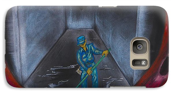Galaxy S7 Case - Spring Cleaning by Artist RiA