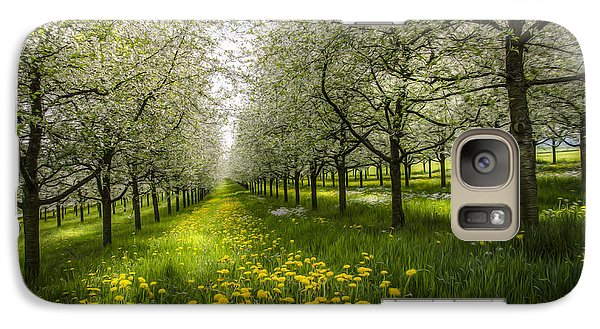 Galaxy Case featuring the photograph Spring Colors1 by Bruno Santoro