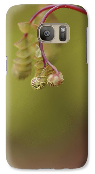Galaxy Case featuring the photograph Spring Coming 2017 by Jeff Burgess