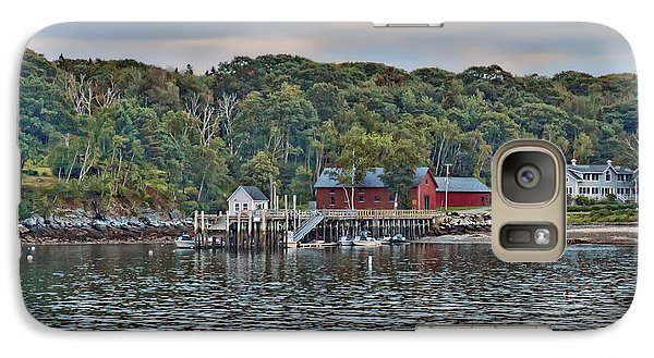 Galaxy Case featuring the photograph Spring Cove Evening by Richard Bean