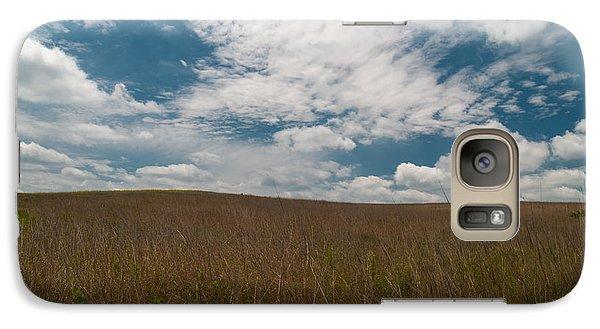 Galaxy Case featuring the photograph Spring Creek Prairie by Joshua House