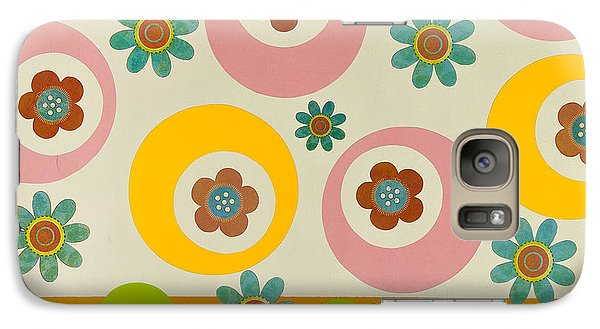 Galaxy Case featuring the mixed media Spring Delight by Gloria Rothrock