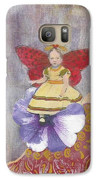 Galaxy Case featuring the mixed media Spring by Desiree Paquette