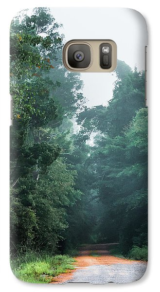 Galaxy Case featuring the photograph Spring Dirt Road by Shelby Young