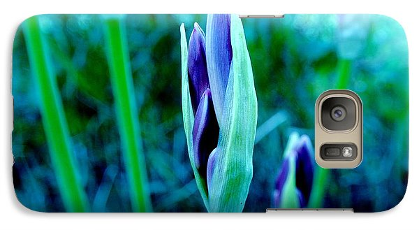 Galaxy Case featuring the photograph Spring Erupting Early by Marsha Heiken