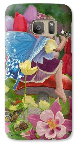 Fairy Galaxy S7 Case - Spring Fairy by Lucie Bilodeau