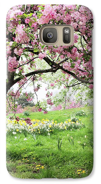 Galaxy Case featuring the photograph Spring Fever by Jessica Jenney