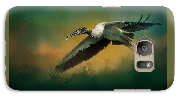 Stork Galaxy S7 Case - Spring Flight by Marvin Spates