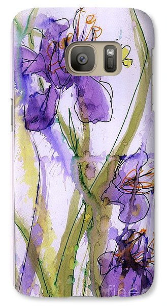 Galaxy Case featuring the painting Spring Fling by P J Lewis