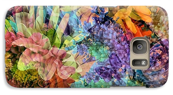 Galaxy Case featuring the photograph Spring Floral Composite  by Janice Drew