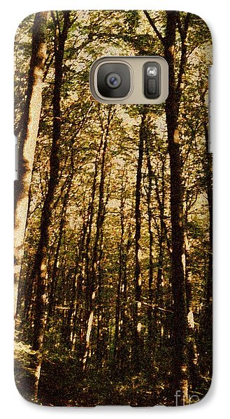 Galaxy Case featuring the photograph Spring Forest by Jean Bernard Roussilhe