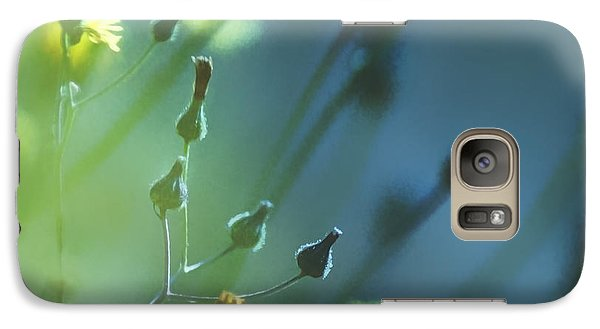 Galaxy Case featuring the photograph Spring Grass by Yulia Kazansky