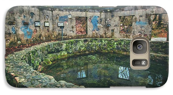 Galaxy Case featuring the photograph Spring House 2 - Paradise Springs - Kettle Moraine State Forest by Jennifer Rondinelli Reilly - Fine Art Photography