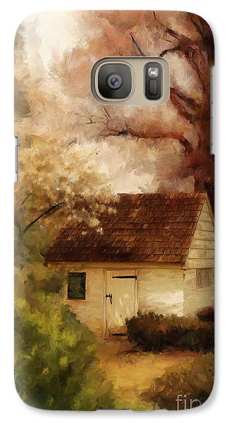 Galaxy Case featuring the digital art Spring House In The Spring by Lois Bryan