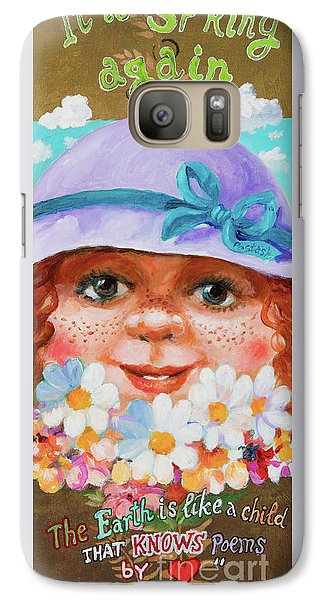 Galaxy Case featuring the painting Spring by Igor Postash