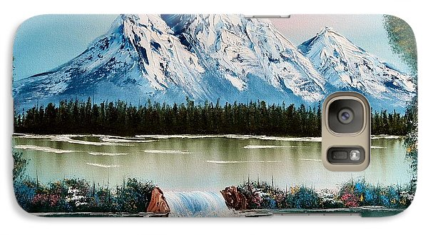 Galaxy Case featuring the painting Spring In Colorado by Vickie Scarlett-Fisher