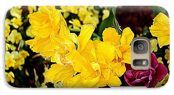 Galaxy Case featuring the photograph Spring In Dallas by Diana Mary Sharpton