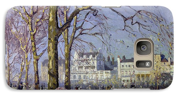 Hyde Park Galaxy S7 Case - Spring In Hyde Park by Alice Taite Fanner