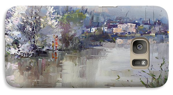 Hyde Park Galaxy S7 Case - Spring In Hyde Park by Ylli Haruni