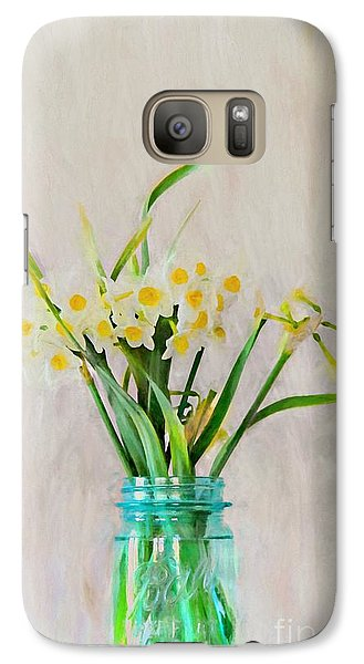 Galaxy Case featuring the photograph Spring In The Country by Benanne Stiens