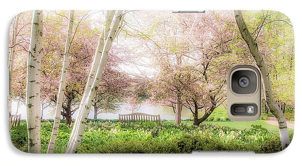 Galaxy Case featuring the photograph Spring In The Garden by Julie Palencia