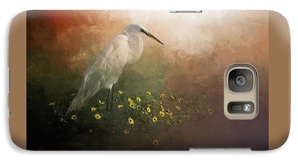 Egret Galaxy S7 Case - Spring Is Here by Marvin Spates