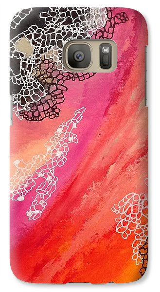 Galaxy Case featuring the painting Squiggles And Wiggles #2 by Suzzanna Frank